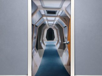 Star Trek TNG Corridor Door Cover