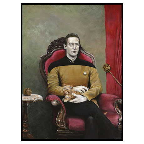 Star Trek TNG Data Poster