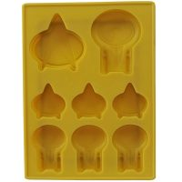 Star Trek TNG Enterprise D Silicone Ice Cube Tray