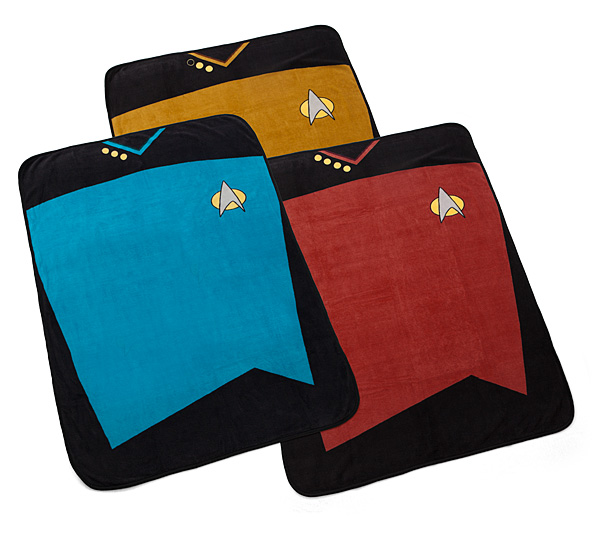 Star Trek TNG Fleece Blanket