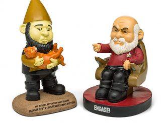 Star Trek TNG Garden Gnomes