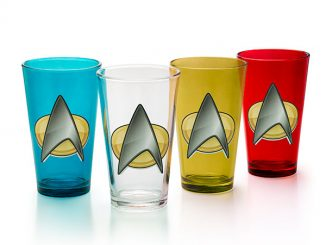 Star Trek TNG Insignia 4-Pint Set