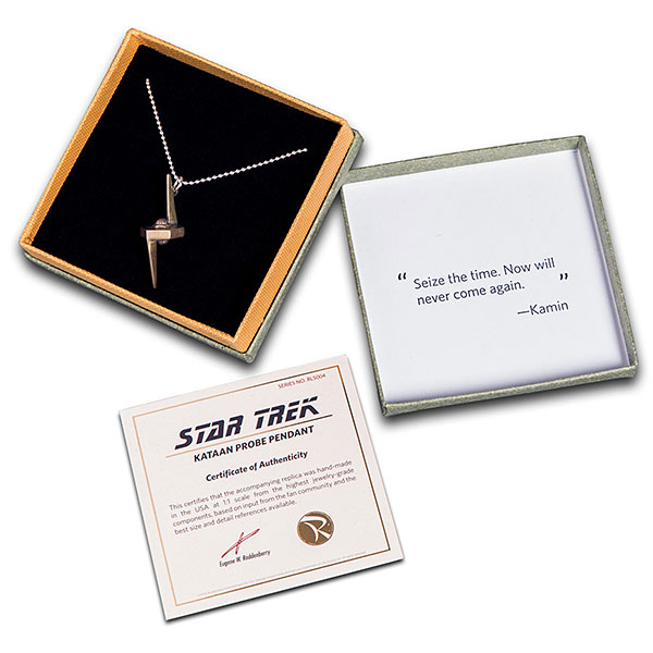 Star Trek TNG Kataan Probe Pendant