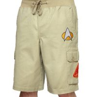 Star Trek TNG Klingon Cargo Shorts