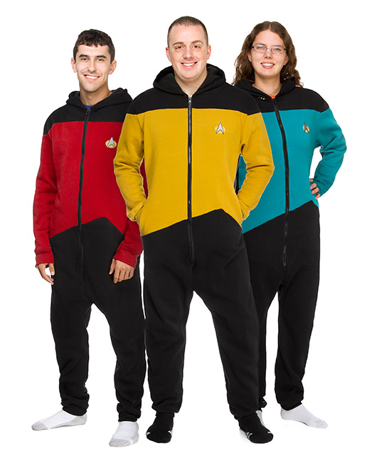 Star Trek TNG Loungers – Adult Onesie Pajamas