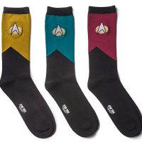 Star Trek TNG Mens Socks