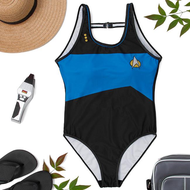 eebde5f9a92 Star Trek: TNG One-Piece Swimsuit