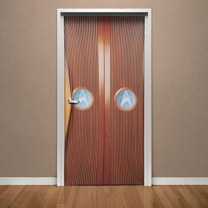 Star Trek TNG Ten Forward Home Door Cover
