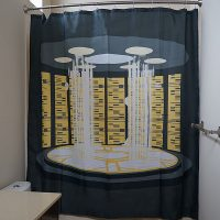 Star Trek TNG Transporter Shower Curtain