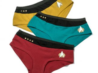 Star Trek TNG Uniform 3-Pack Panties
