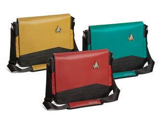 Star Trek TNG Uniform Messenger Bags