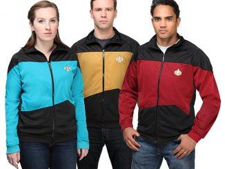 Star Trek TNG Unisex Track Jacket