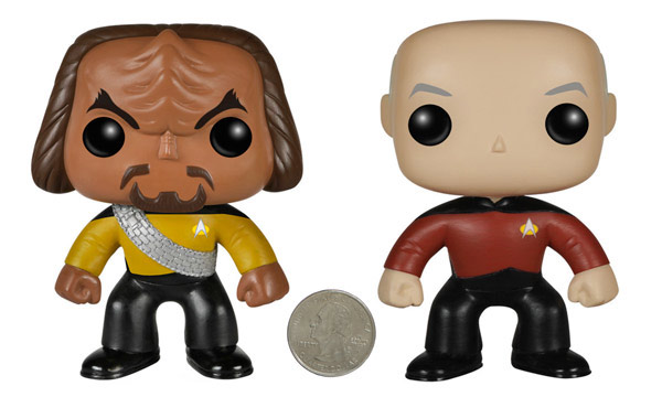 Star Trek TNG Vinyl Figures