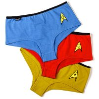 Star Trek TOS 3-pack Panties
