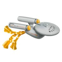Star Trek TOS Enterprise NCC-1701 Warp Drive Dog Chew Toy Plush