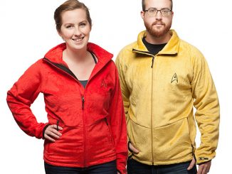 Star Trek TOS Fleece Jackets