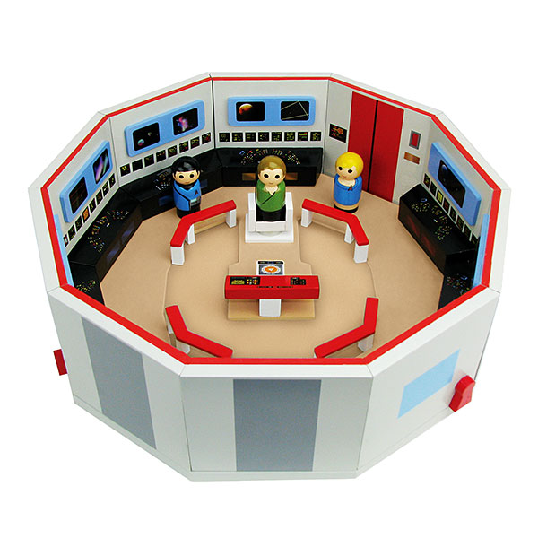 Star Trek TOS Pin Mate Enterprise Bridge Playset