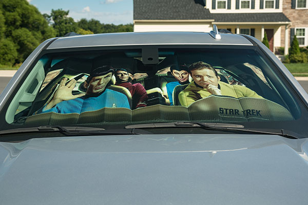 Star Trek TOS Road Trip Sunshade
