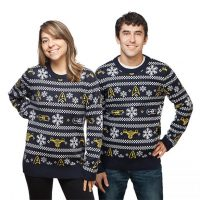 Star Trek TOS Ships Holiday Sweater