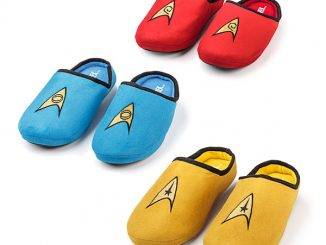 Star Trek TOS Slippers
