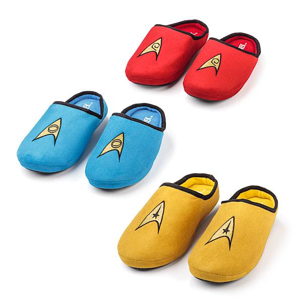 Star Trek TOS Slippers