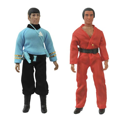 Star Trek TOS Spock and Khan Retro Action Figure Set