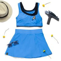 Star Trek TOS Two-Piece Swimsuit