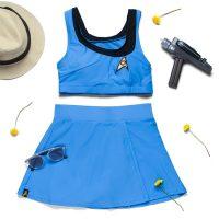 Star Trek TOS Two-Piece Swimsuit
