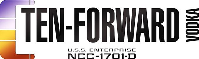 Star Trek Ten Forward Vodka Logo
