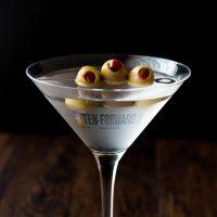 Star Trek Ten Forward Vodka Martini