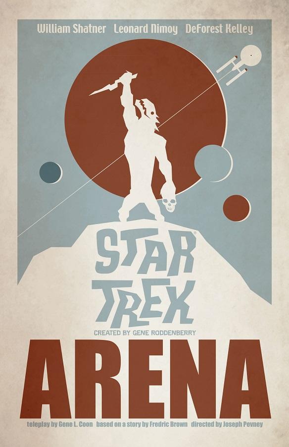 Star Trek The Art of Juan Ortiz - Arena