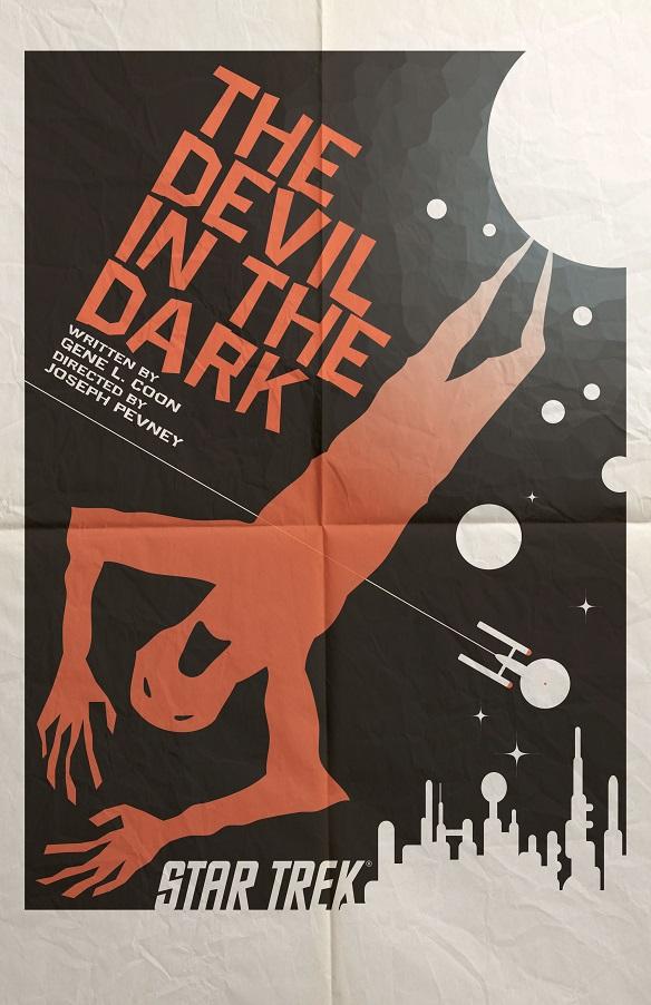 Star Trek The Art of Juan Ortiz - The Devil in the Dark