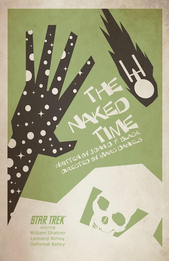 Star Trek The Art of Juan Ortiz - The Naked Time