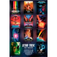 Star Trek The Movies Poster