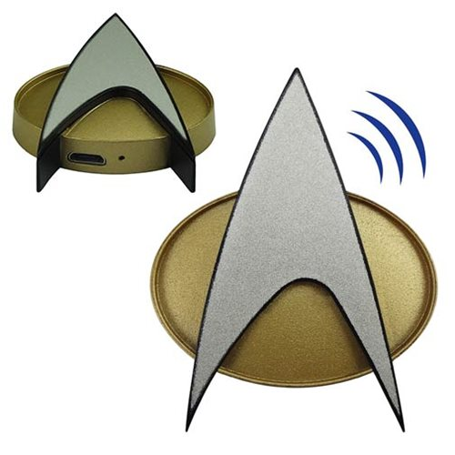 Star Trek The Next Generation Bluetooth Communications Badge