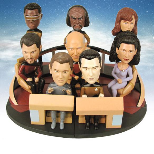 The Next Generation Build-a-Bridge Deluxe Bobble Heads