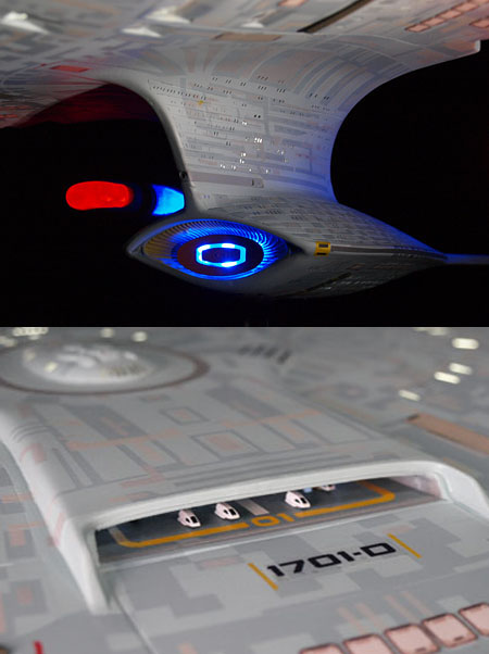 Star Trek: The Next Generation Enterprise D Artisan Replica