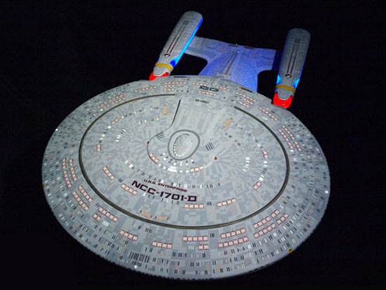 Star Trek The Next Generation Enterprise D Artisan Replica
