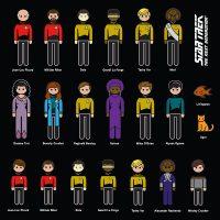 Star Trek The Next Generation Family Car Decals