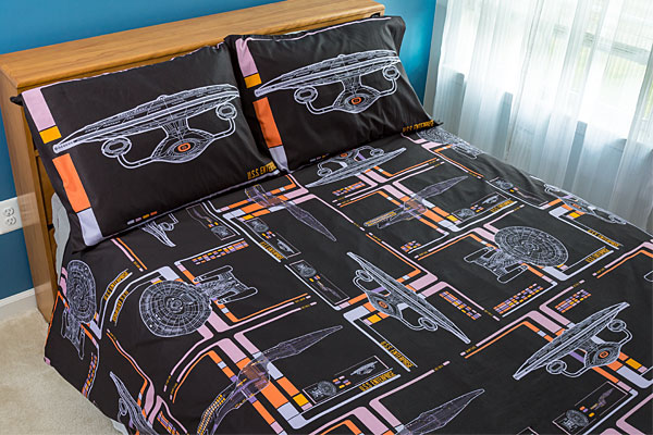 Star Trek The Next Generation LCARS Duvet Cover and Pillowcases