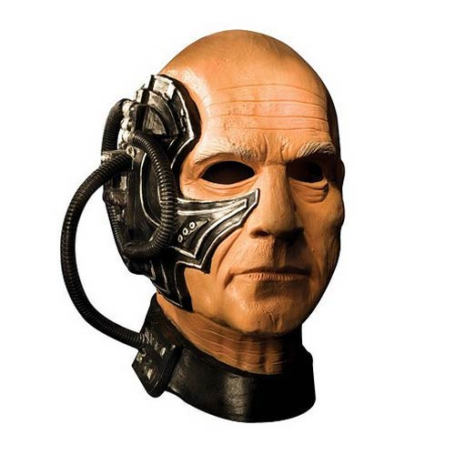 Star Trek The Next Generation Locutus Deluxe Latex Adult Mask