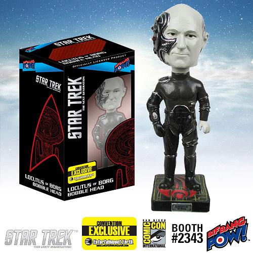 Star Trek The Next Generation Locutus of Borg Bobble Head