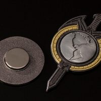 Star Trek The Next Generation Mirror Universe Badge