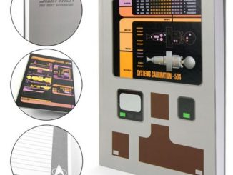 Star Trek The Next Generation Padd Faux Leather Journal
