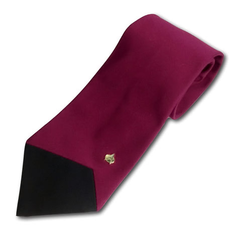 Star Trek The Next Generation Picard Burgundy Tie