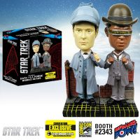 Star Trek The Next Generation Sherlock Holmes Data and La Forge Bobble Heads