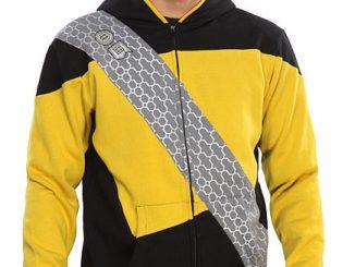 Star Trek The Next Generation Worf Costume Hoodie