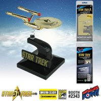 Star Trek The Original Series 24K Gold Plated Enterprise Monitor Mate