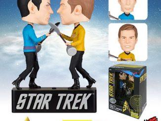 Star Trek The Original Series Amok Time Kirk vs. Spock Bobble Heads
