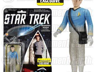 Star Trek The Original Series Beaming Spock ReAction 3 3 4-Inch Retro Action Figure
